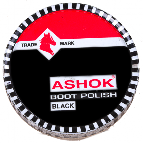 POLISH WAX ASCHOCK 60GM BLACK-BROWN