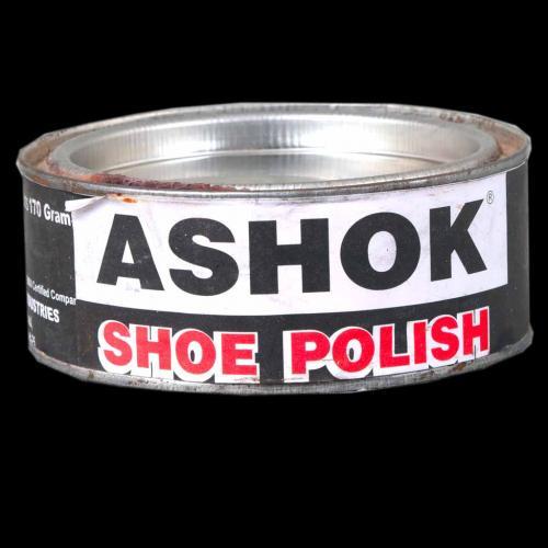 POLISH WAX ASHOCK 170GM BLACK -BROWN