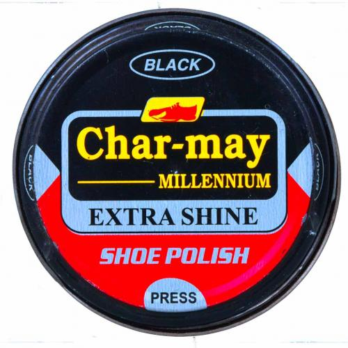 POLISH WAX CHARMY 60GM BLACK-BROWN
