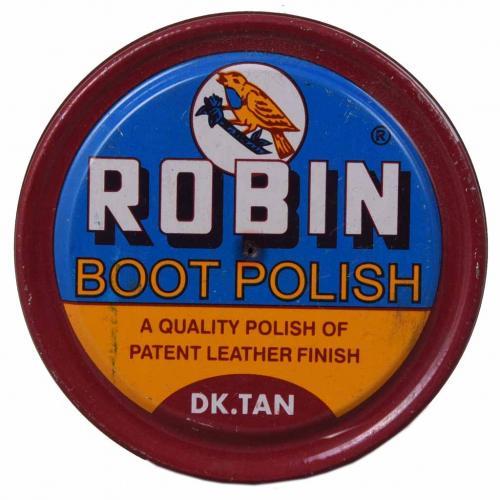 POLISH WAX ROBIN 60GM BLACK -BROWN